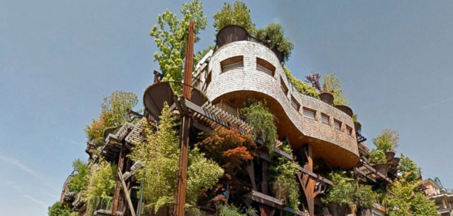 HT italy urban treehouse