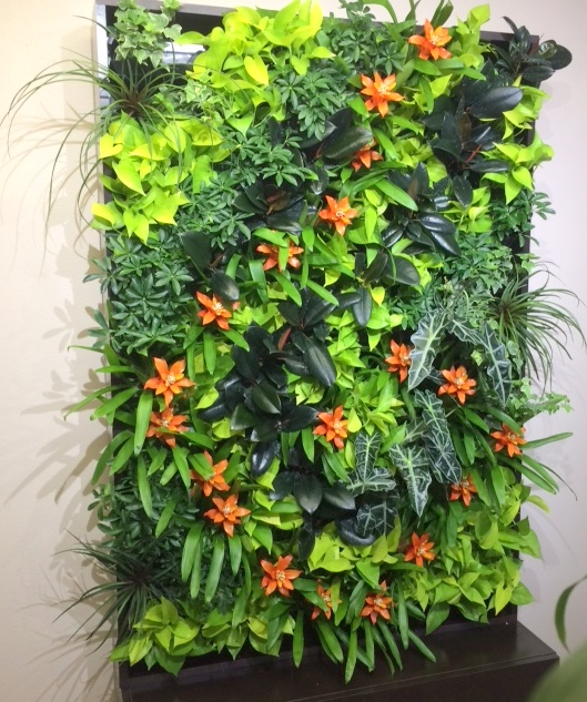 Living wall by Pat